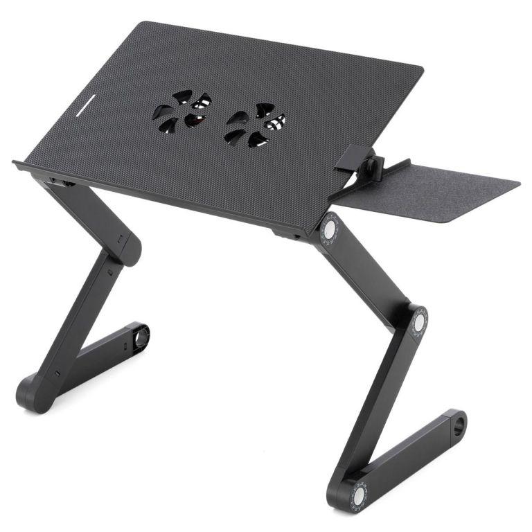 Notebookový stôl s USB chladením - 42 x 28 cm