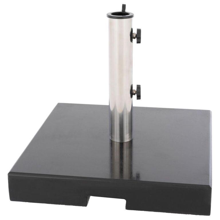 Stojan na slnečník - 33 kg, žula, redukcia 40 mm a 50 mm