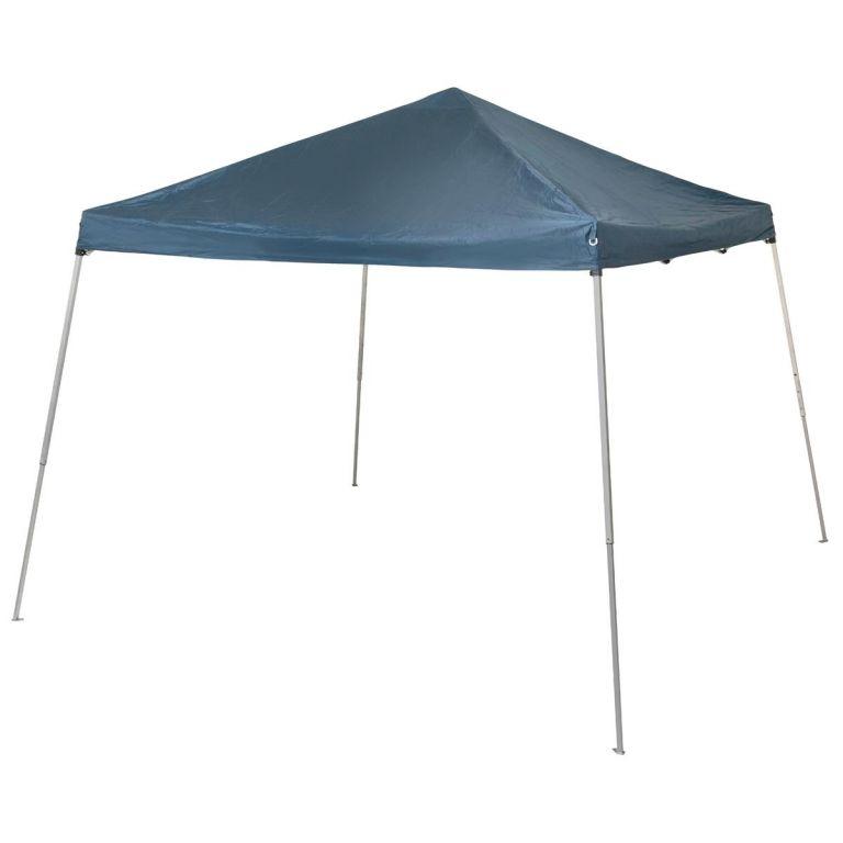 Záhradný party stan modrý - 3x3 m, plachta 210 g / m²