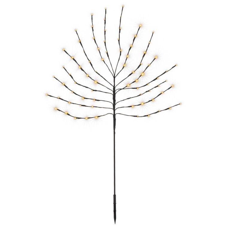 Vianočná dekorácia - svetelný strom, 110 cm, 80 LED