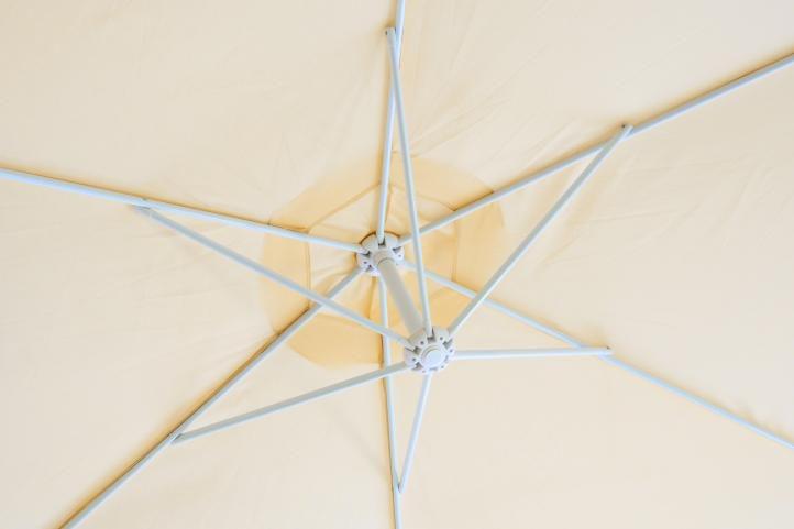 Slnečník Gardenay - béžový, 3 m
