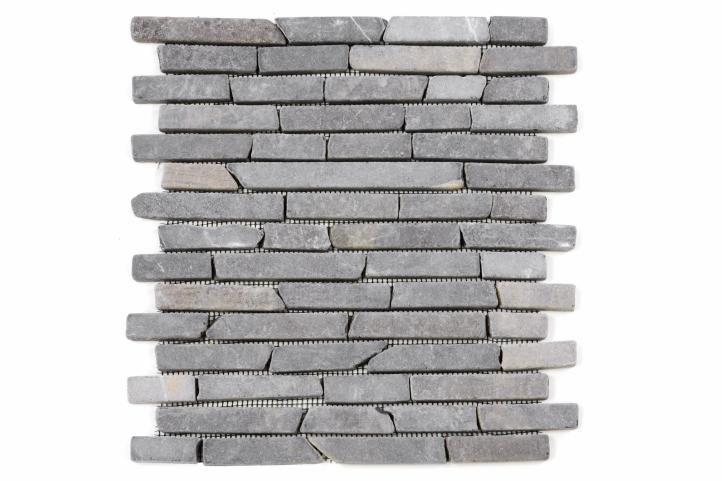 Mramorová mozaika Garth – sivá obklad 1 m2