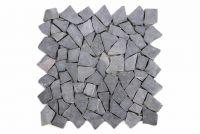 Mramorová mozaika Garth - šedá obklad 1 ks