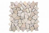 Mramorová mozaika Garth- ružová – obklady 1 ks