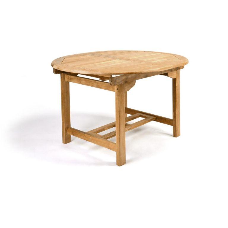 Rozšíriteľný záhradný stôl z teakového dreva Garth