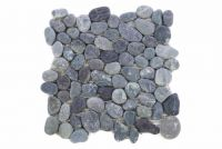 Mozaika Garth riečne okruhliaky - šedá obklady 1 m2