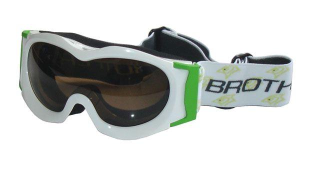 Lyžiarske okuliare JUNIOR - biele