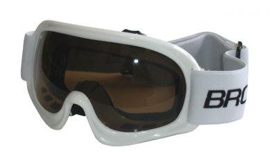 Lyžiarske okuliare DETSKÉ - biele