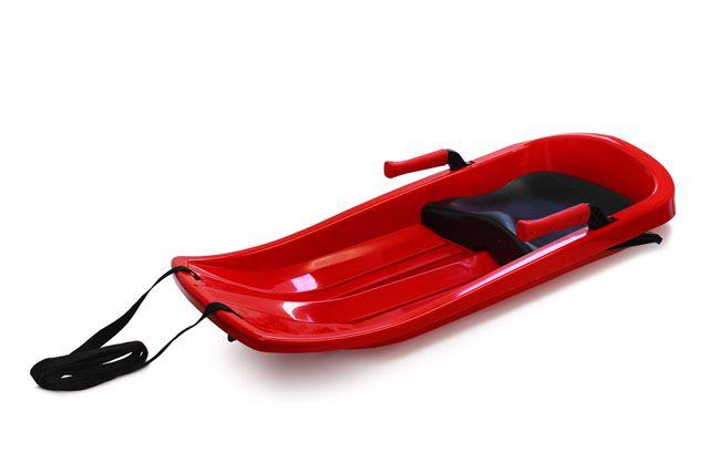 Šampión EXTREME plastový bob - červený