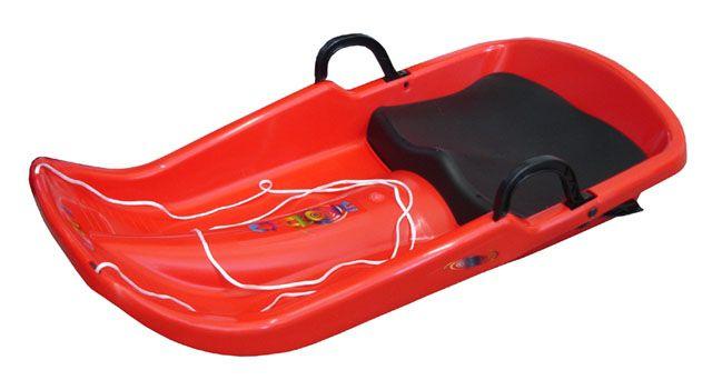 Cyclone plastový bob - červený