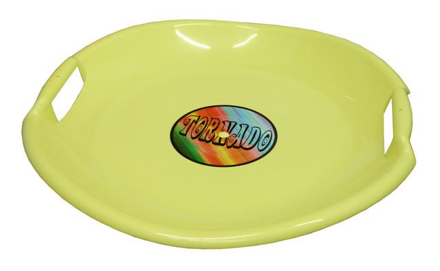 Tornádo tanier sánkarsky - žltý