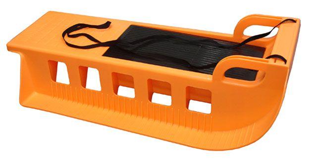 Kamzík plastové sane oranžové