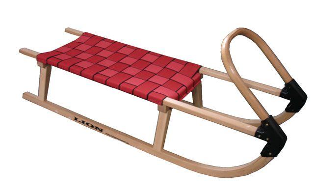 OEM AC28441 Sane 110cm drevené červené