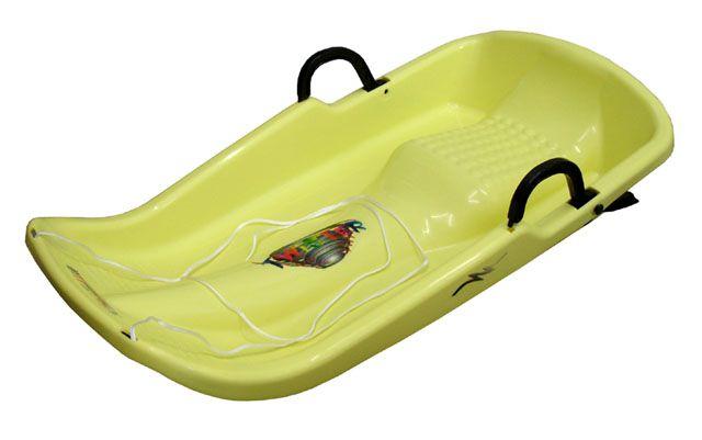 Plastkon Twister bob - žltý