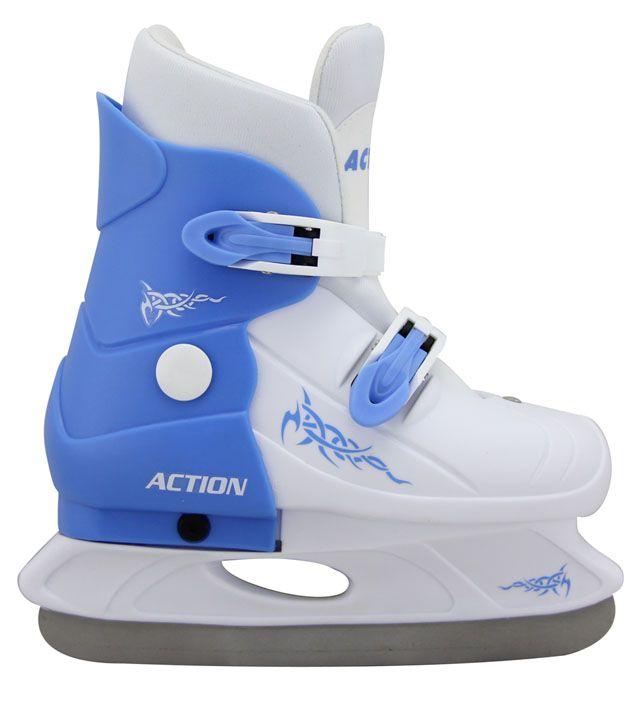 Action rozťahovacie korčule modré - veľ. 33/36