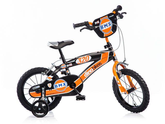 """CorbySport Dino 145 Dětské kolo BMX černé 14"""""""