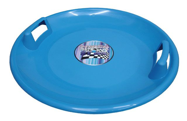 Plastový talíř Superstar - modrý
