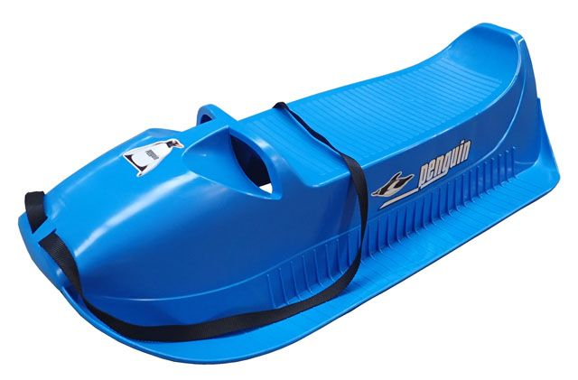 Acra Dětské plastové sáně PINGUIN ALFA modré