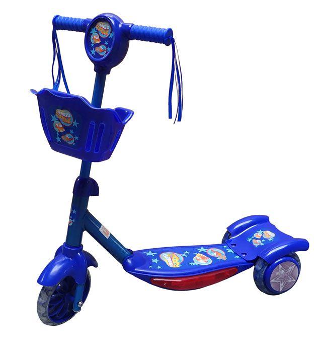 Detská kolobežka 3 kolečká - modrá