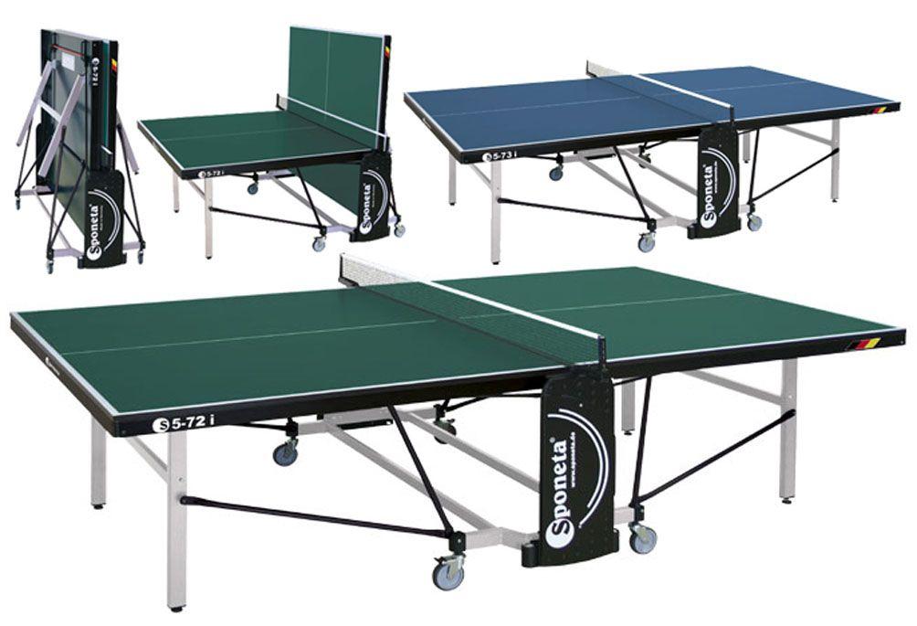 Stôl na stolný tenis (pingpong) Sponeta S5-73i - modrý