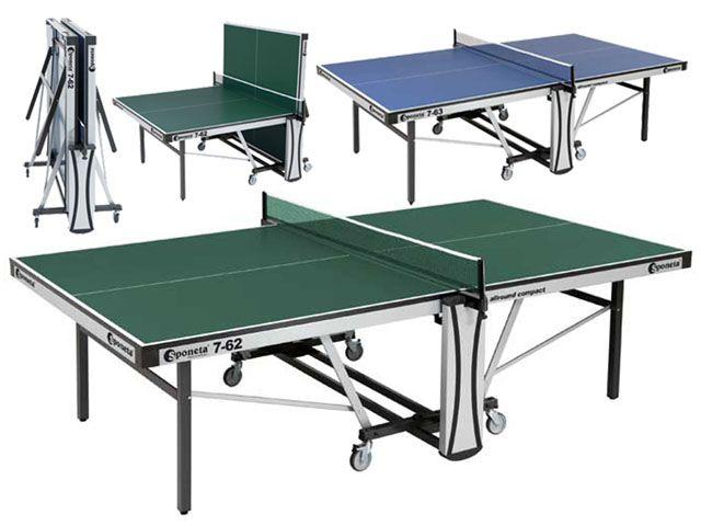 Stůl na stolní tenis SPONETA - modrý