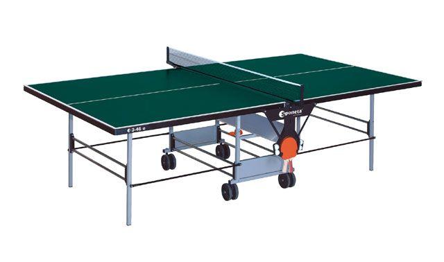 Pingpongový stůl zelený - Sponeta S3-46e