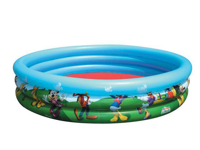 BESTWAY P91007 Nafukovací bazén Mickey 122cm