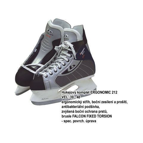 Botas 36942 Hokejové brusle Botas ERGONOMIC 212, vel. 39