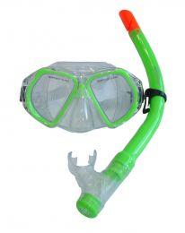 Detská potápačšká sada - zelená