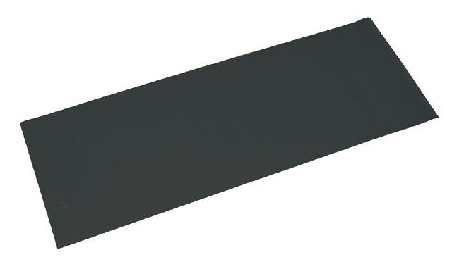 Gymnastická podložka 173 x 61 x 0,4 cm, čierna