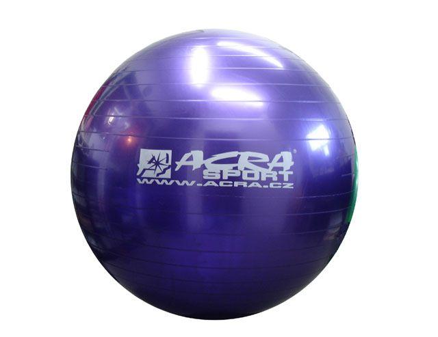 Gymnastická lopta (gymball) 900 mm fialová