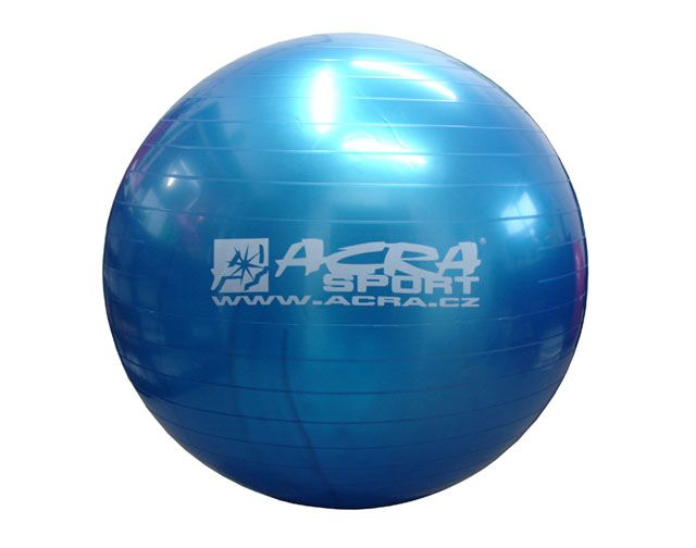 Gymnastická lopta 750 mm modrá