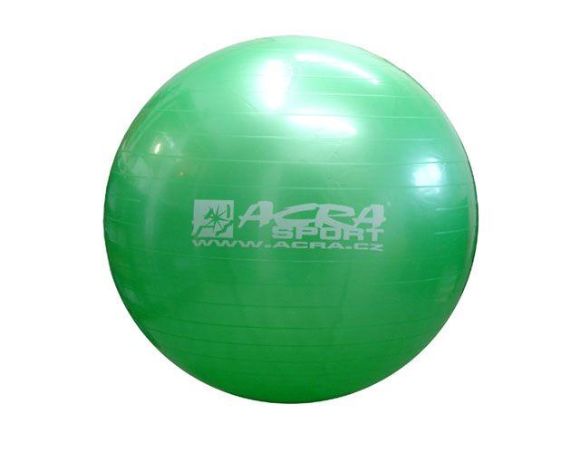 Gymnastická lopta 750 mm zelená