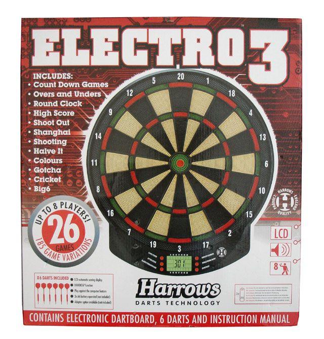 Elektronický terč Harrows