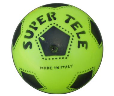 Gumová potlačená lopta SUPER TELE FLUO