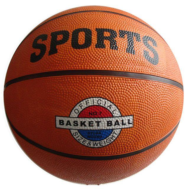 Basketbalová lopta veľ. 7 - oranžová