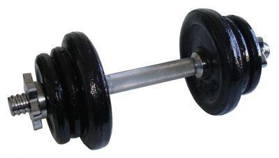 Nakladacie jednoručné činky - 11 kg
