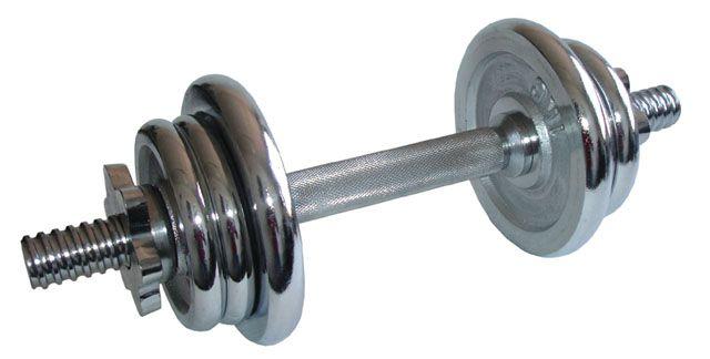 Činka nakladacia, jednoručné, chrómová - 6 kg
