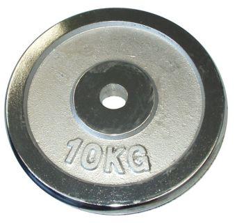 Kotúč chróm 10 kg - 25 mm