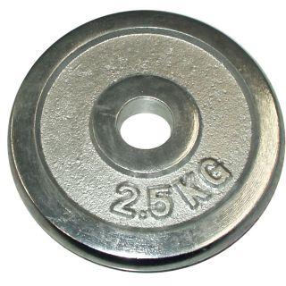 Kotúč chróm 2,5 kg - 25 mm