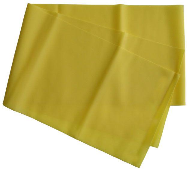 Gumová stuha na aerobic žltá