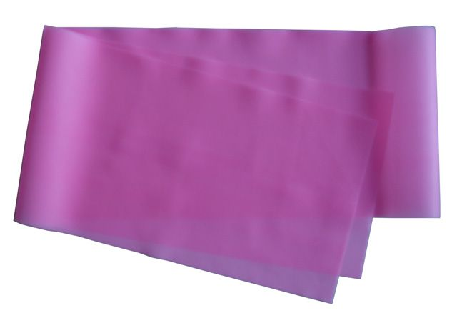 Gumová stuha na aerobic - ružová