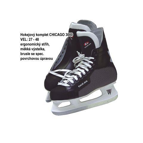 Korčule hokejové vel.39