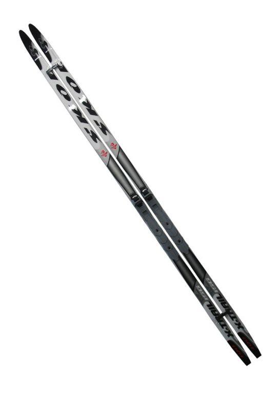 Bežecké lyže s viazaním NNN 190 cm - HLADKÉ