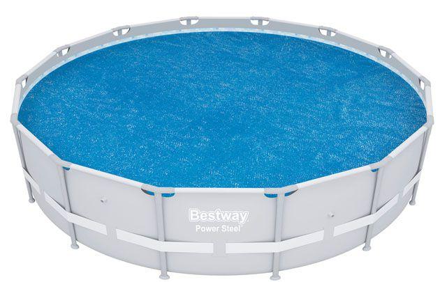 Solárna plachta na bazén - 417 cm