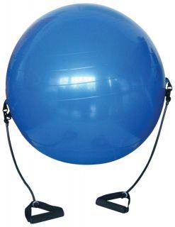 Gymnastická lopta s expandérmi - 650 mm
