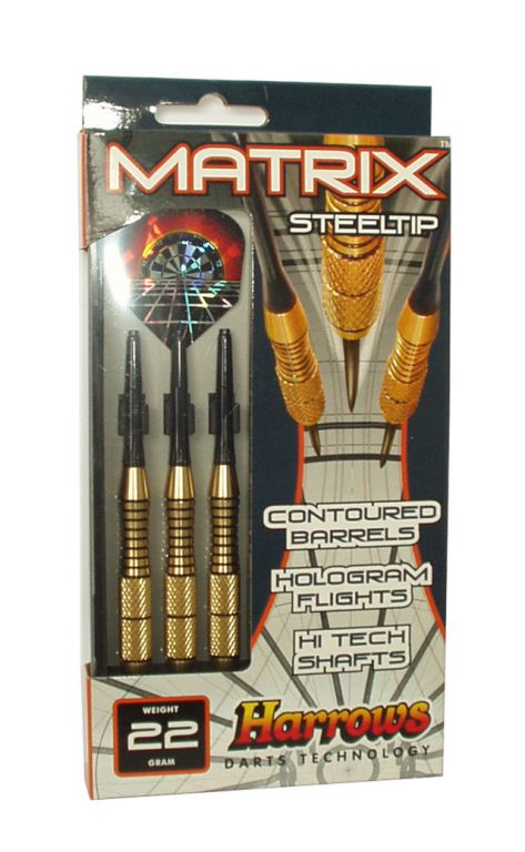 Šípky STEEL MATRIX 20g