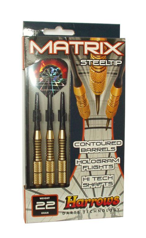 Šípky STEEL MATRIX 24g