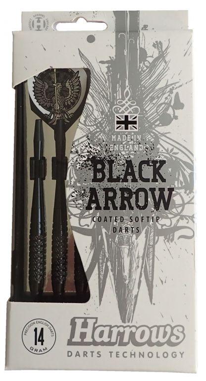 Šípky SOFT BLACK ARROW 14g