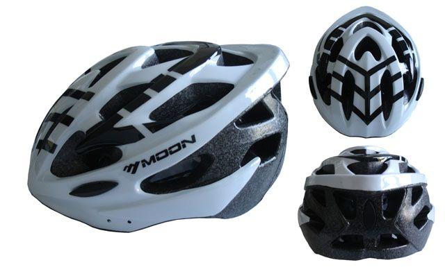 Cyklistická helma veľkosť L - biela